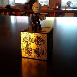 raiser Puzzle Box Foil Face Design on