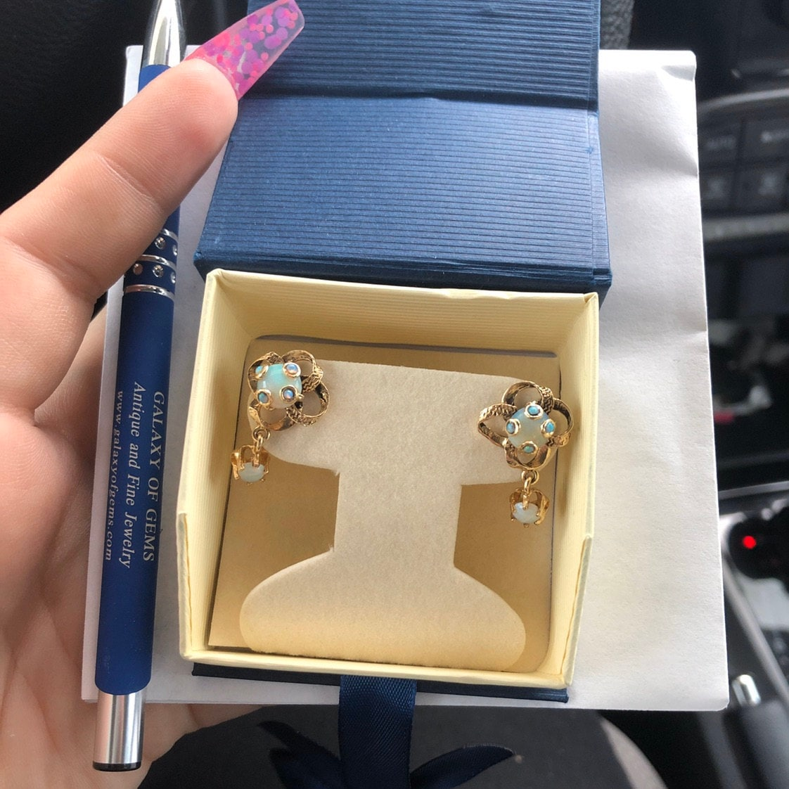 Brittany added a photo of their purchase