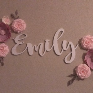 Name Sign , Custom wooden Name Sign, Birthday Wedding name Sign, Nursery name Sign, Backdrop name Sign, Wood name Sign, over crib BABY Sign photo