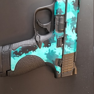 Custom Gun Wrap for Ruger SR9C