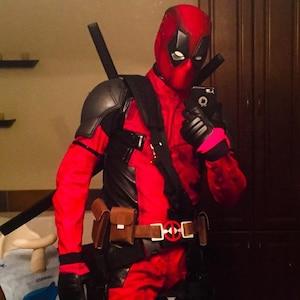 fad54cda9 Daredevil Costume / Cosplay (Netflix) Replica, in Leather and/or Cordura