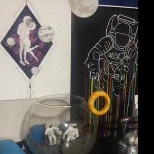 Fairy Trees - Watercolor Art Print, Night Sky Print, Celestial Art, Starry  Night Art, Blue Sky, Celectial Art Print, Tree silhouette