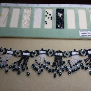 jewelry craft 50 Peruvian Painted Ceramic beads for beading Bead Board//tray