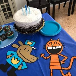 Dogman birthday Party Dogman decorations Captain Underpants | Etsy