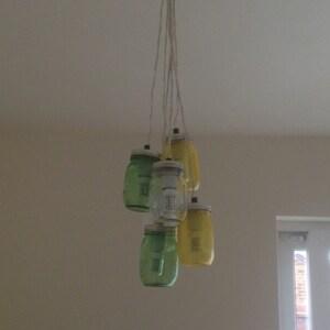 Einmachglas Kronleuchter Rustikale Einmachglas Anhanger Etsy