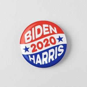 Biden Harris 2020 Election Pin Button 1.25