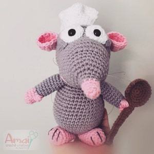 15 Pixar-Inspired Patterns You Need To Crochet | Crochet mouse ... | 300x300