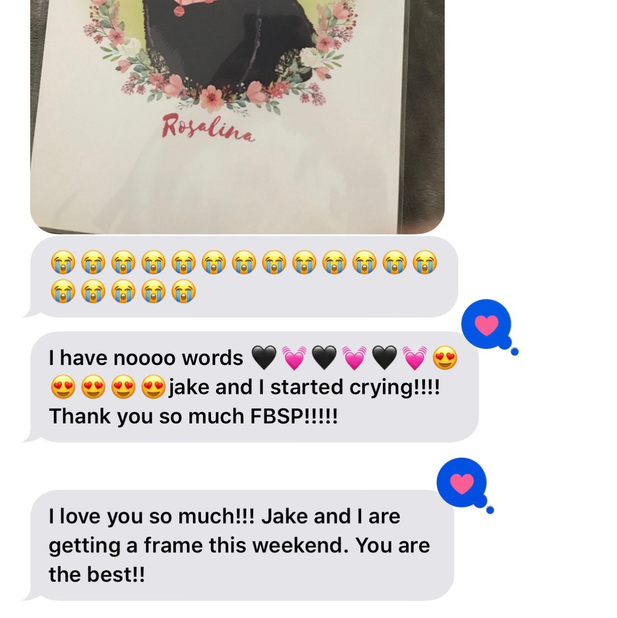 Kiana Favors added a photo of their purchase