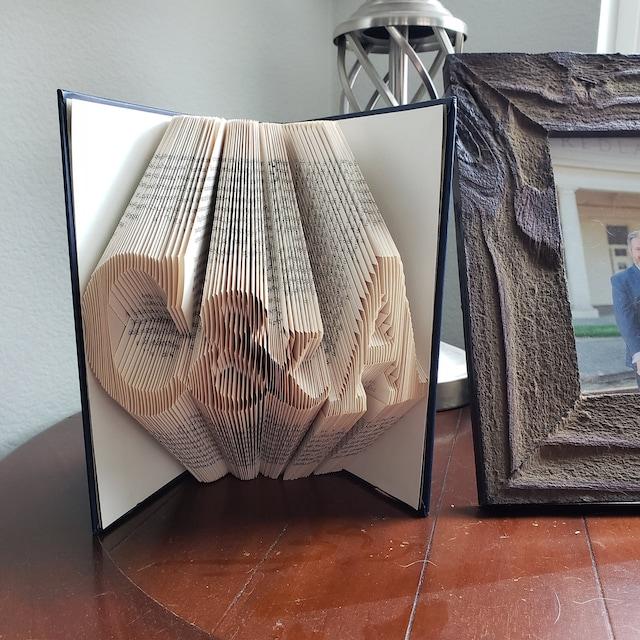 Anniversary Date Folded Book