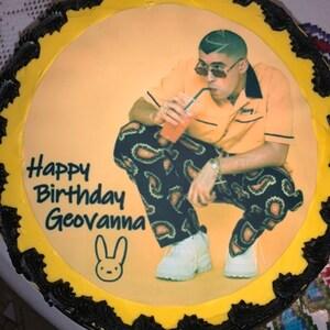 24 Edible Cupcake Toppers Cake Decorations Precut Circles I Love Kick Boxing