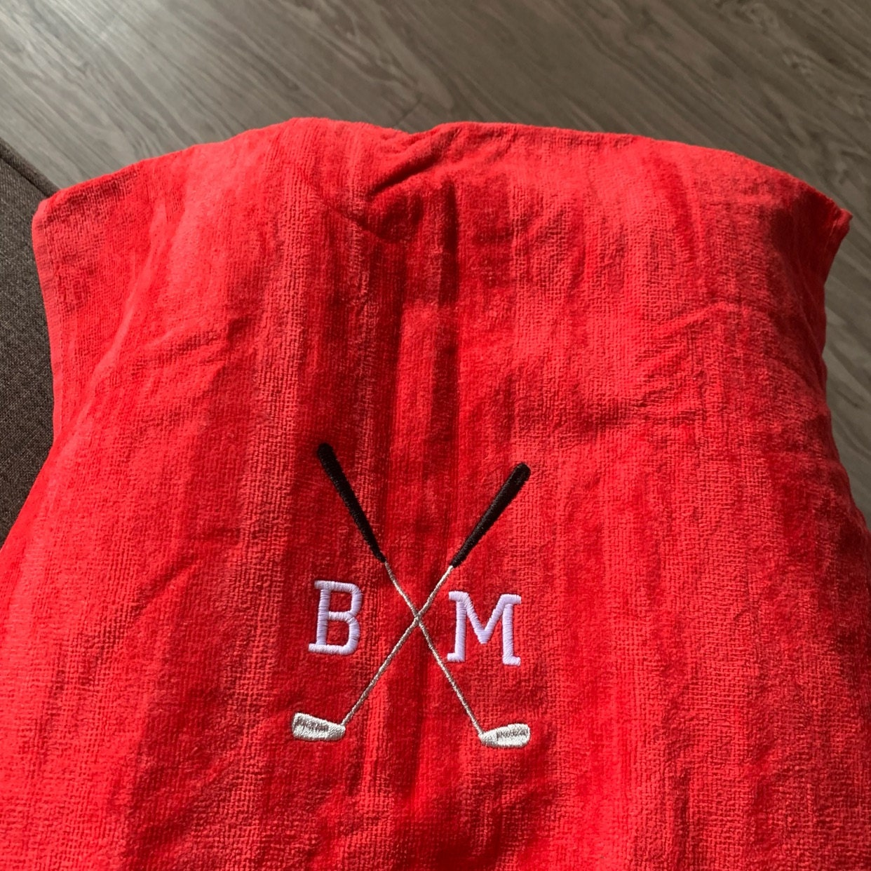 Embroidered Golf Towel, Personalized Golf towel, golf gift