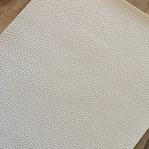 WHITE Matte Faux Leather Sheets, Faux Leather Sheets, Leather for Earrings - 129 photo