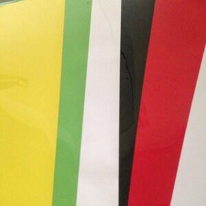 "12""x 20"" */ 5-sheets / SISER EasyWeed HTV - Heat Transfer Vinyl photo"