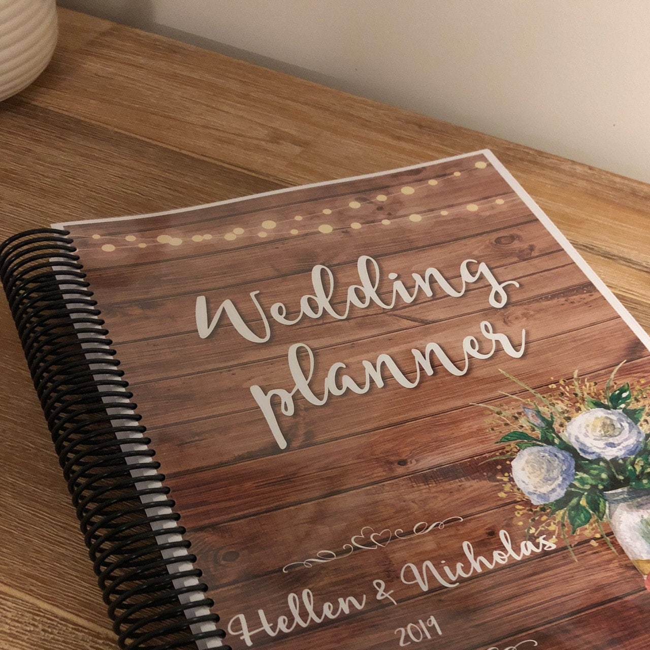 Printable Wedding Planner Binder Planning A Rustic