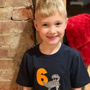 a41fa6eef Jurassic World inspired birthday shirt Dinosaur birthday | Etsy