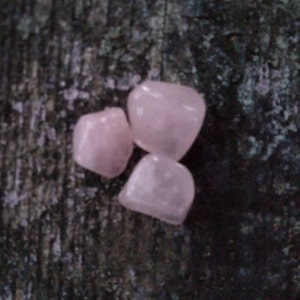 Rose Quartz Crystal - Rose Quartz Stone - Rose Quartz tumbled stones - Rose Quartz - healing crystals and stones - heart chakra crystals photo
