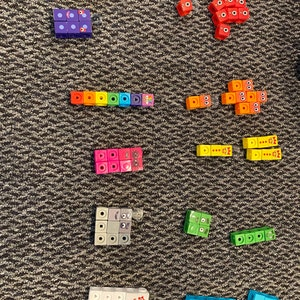 Mathlink CUBES ~ numberblocks CBeebies ~ activité 1-10 Set