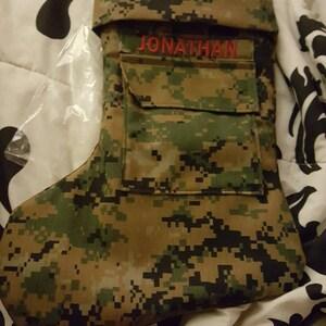 Military Name Tape Stocking