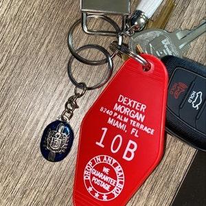 Dexter Michael C Hall Keyring // Bag Tag *Great Gift*