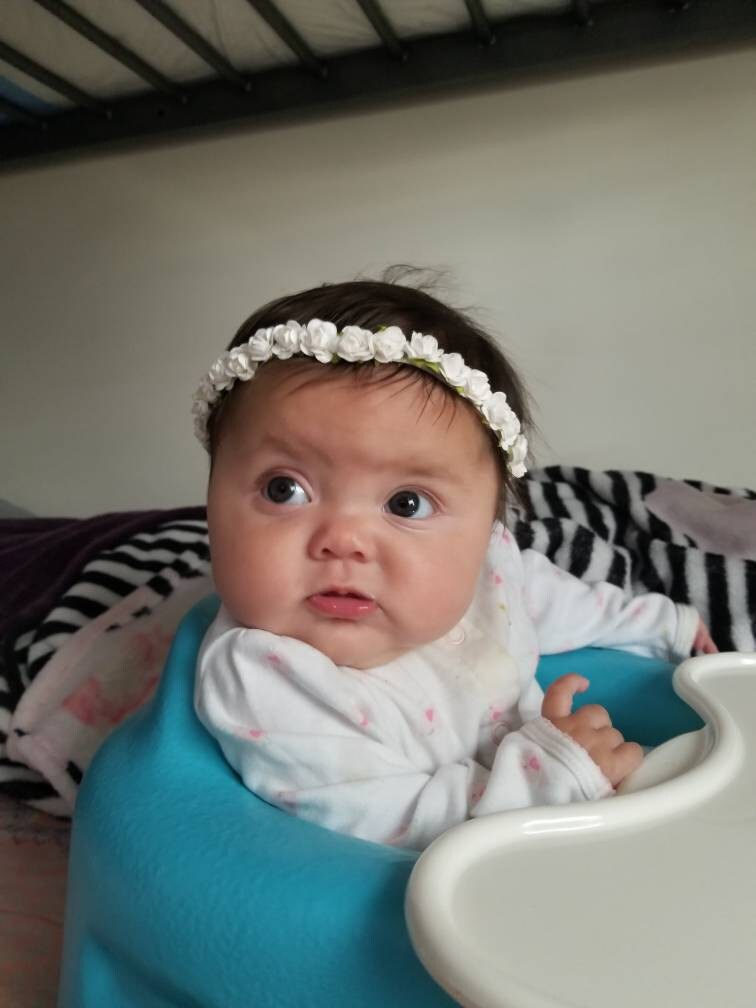 I bought this customized white flower crown for my daughters baptism and  absolutley love it!! It is exactly what I wanted! Her baptism isnt for a  few weeks ... 4f1992f92a4