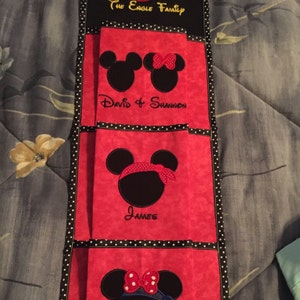 3 Pocket Fish Extender For Your Disney Cruise Pick Colors Etsy