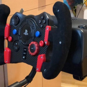 Logitech G29 G920 Easy Magnetic Paddle Shifter 3D Printed