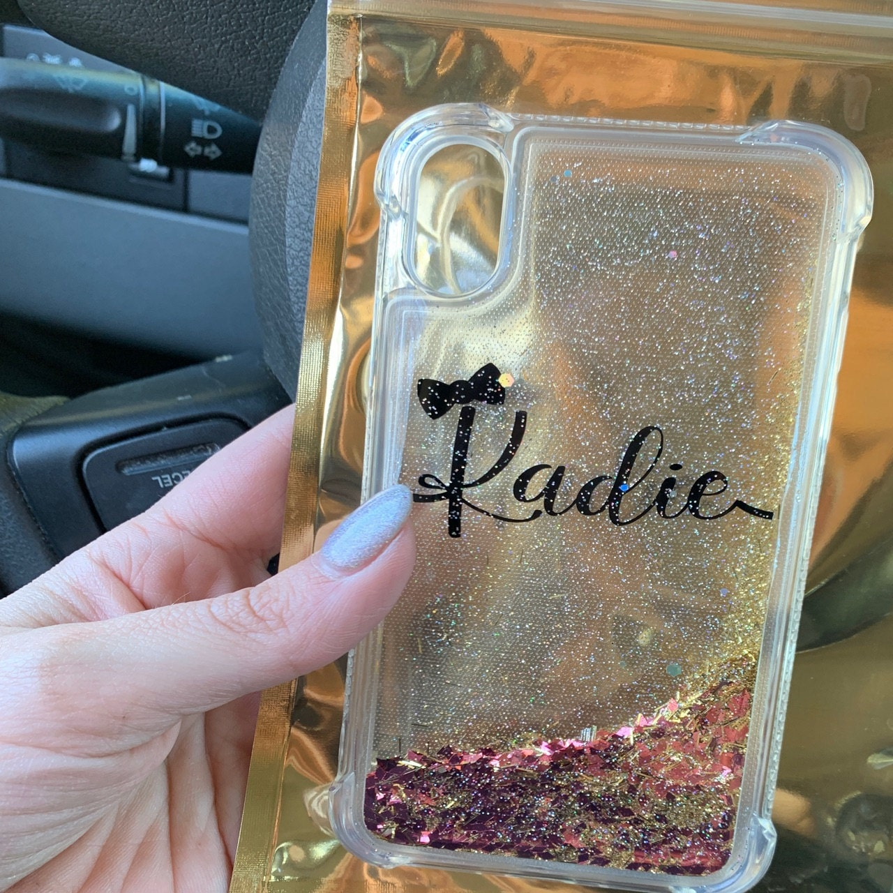 Kadie Burke added a photo of their purchase