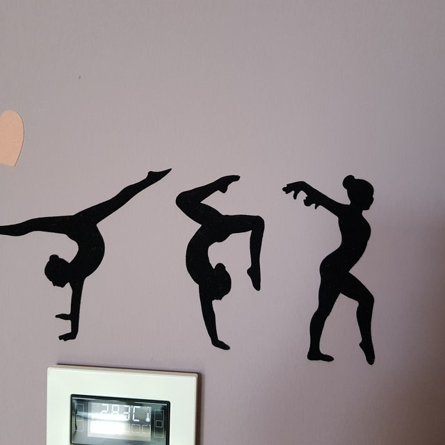 girl room wall stickers