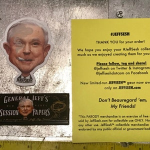 """NEW Red Label #JeffSesh /""""Jeff Sessions/"""" Collectible Rolling Papers Limited!"""