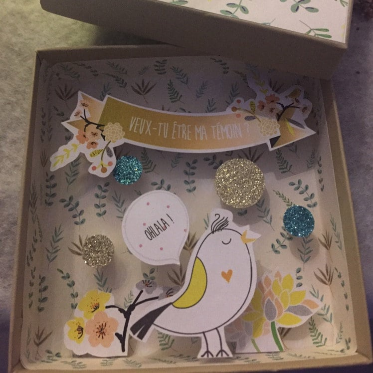 Wedding Witness Gifts: Will You Be My Witness / Bridemaid / MOH / Flower Girl
