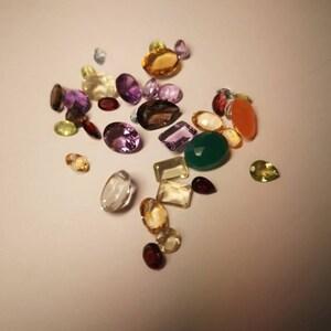 50 Carats Mixed Gem Loose Gemstones, Mixed Gem Stone, Multi Color Stone, Mix Shape Stones, Gemstones, GemMartUSA (MX-60001) photo
