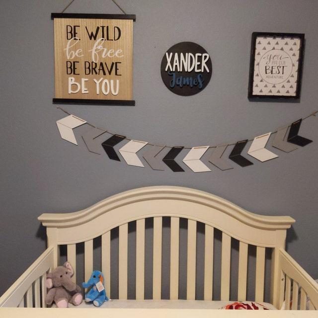 Indoor//Outdoor ZANDER Street Sign Childrens Name Room Decal