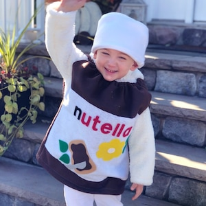 Baby Nutella Costume Halloween Toddler Infant Costume