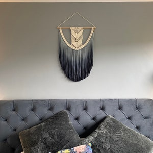 sizes Small Medium Large XL  XXL 3XL Dyed Wall Tapestry Large Macrame Wall Hanging \