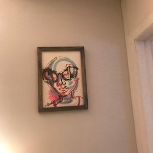 Picture Frame, Rustic Picture Frame, Picture Frame, Vintage Style Photo Frame, 4x6, Distressed Frame, Picture Frame Wood, Stain Frame, Emily photo