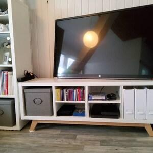 Expedit Tv Kast.6 X Ikea Kallax Shelf Feet Furniture Feet Furniture Legs Solid Etsy
