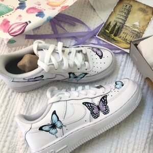 air force 1 femme papillon