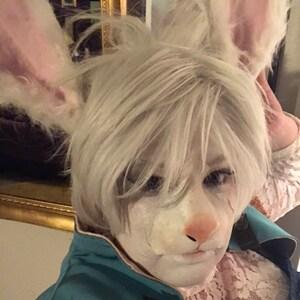 Faun Ears latex animal ears for pan, satyr, deer, saga elf cosplay and LARP