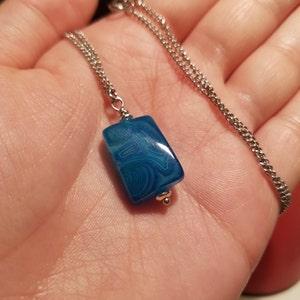 """Natural piedras preciosas de color turquesa 7X12MM 100/% Real Nugget Cuentas Sueltas Strand 15/"""" AA1"""