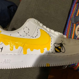 Custom Honeybee Nike Air Force 1
