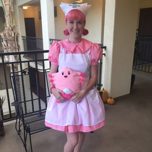 Nurse joy cosplay costume