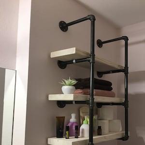 Pipe Hangers For Industrial Floating Shelves Blind Wood