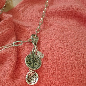 HERKIMER DIAMOND Pendant Charm Drop  HerkimerJewelry Herkimer Necklace Raw Crystal April Birthstone Jewelry Wire Wrap Herkimer Jewelry gd605 photo