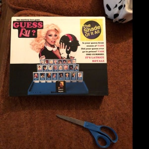 Guess Ru Game Rupaul S Drag Race Guess Who Printable Etsy