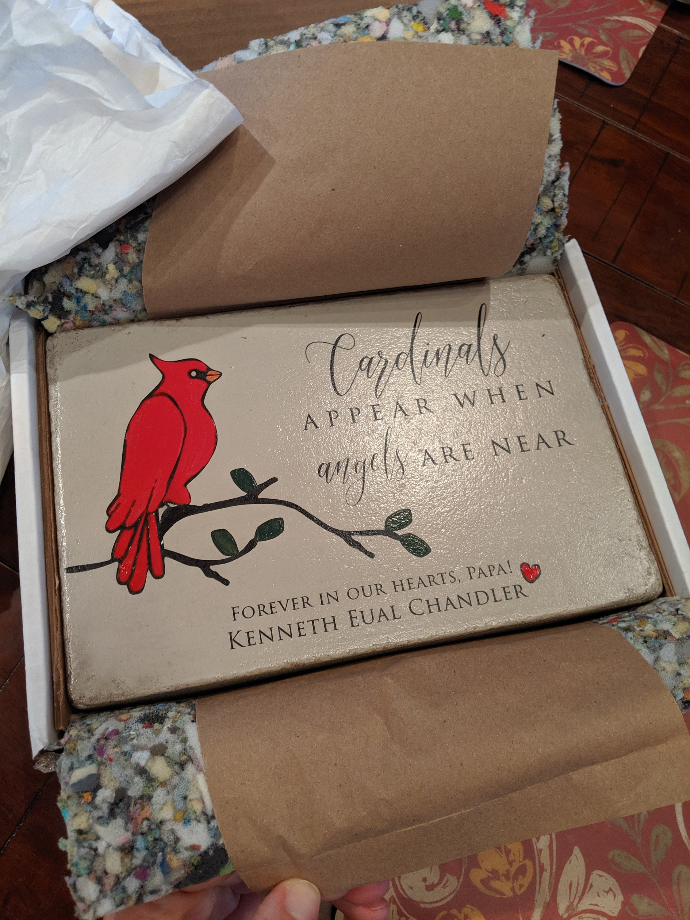 Kelly Chandler added a photo of their purchase