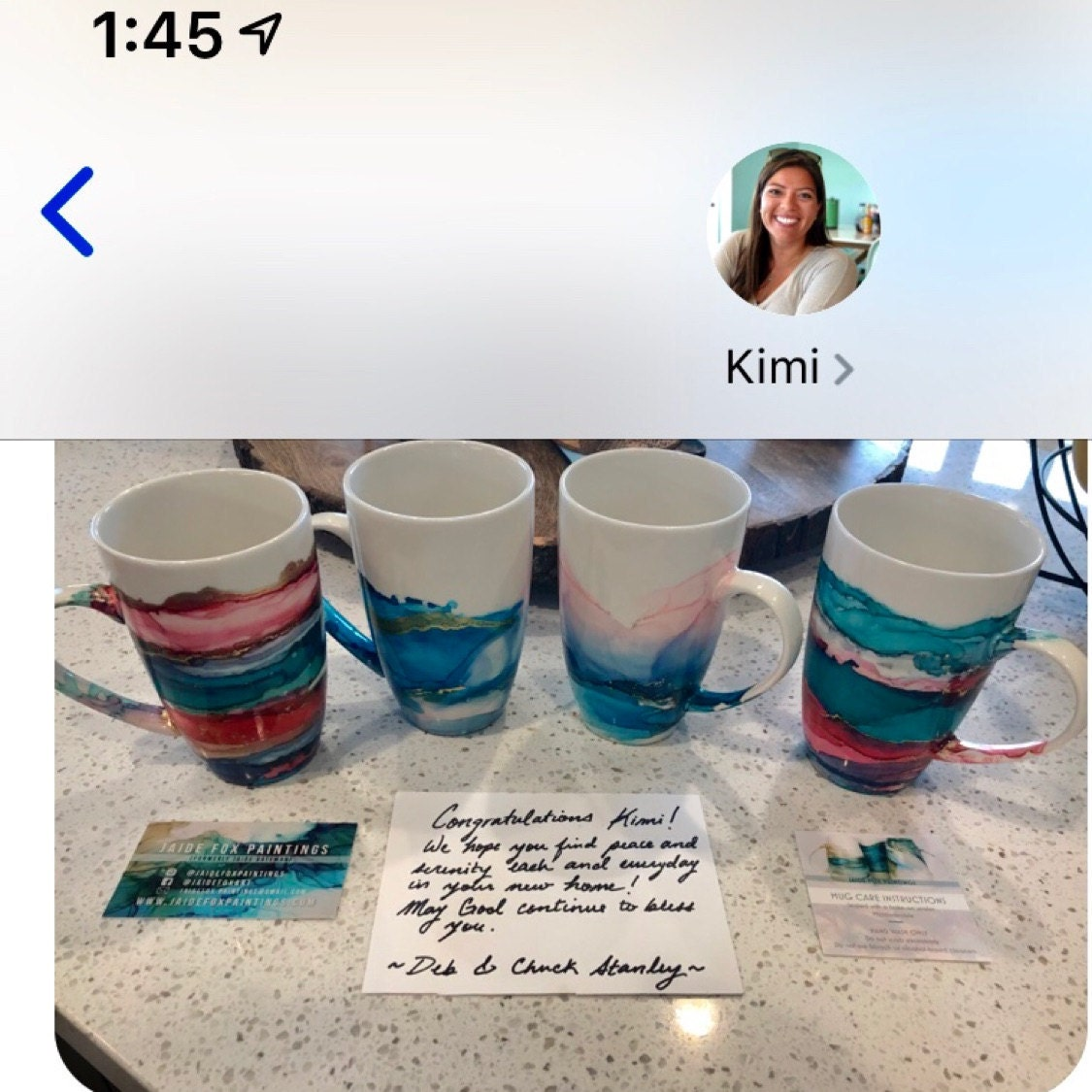 Deborah Stanley added a photo of their purchase