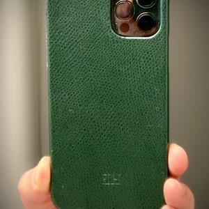 Handmade Gift Crocodile Embossed Free Personalized Monogram! 360\u00ba Full Wrap Case Italian Leather iPhone 11  Pro  Pro Max