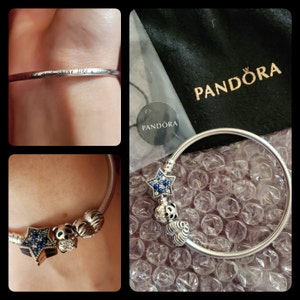 mon bracelet pandora noirci