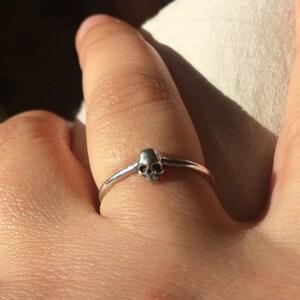 Tiny Skull Ring photo