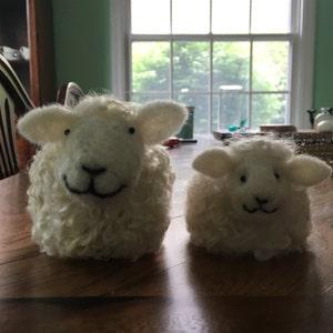 I Love Ewe Needle Felted Sheep Kit Fibre Art Ornament,Collectable Kit